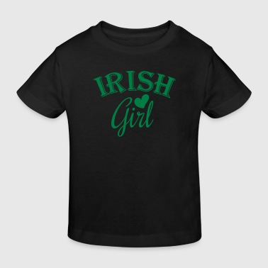 irish girl - Økologisk T-skjorte for barn