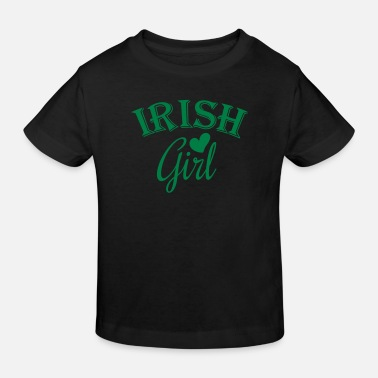 Irish Girls irish girl - Kinder Bio-T-Shirt