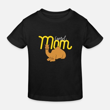 Egypt Camel Mom - Gift For Mom - Camel Lover Gift - Kids' Organic T-Shirt