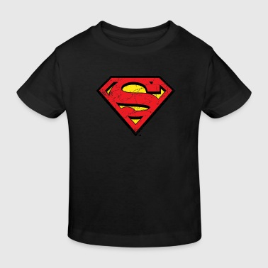 Superman S-Shield T-Shirt für Kinder  - Kinder Bio-T-Shirt