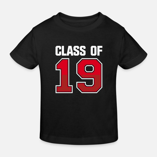 Note Baby Clothes - Class of 2019 school studies end class ' 19 - Kids' Organic T-Shirt black