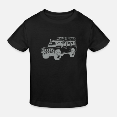 Land Rover Defender Land Rover Defender, Jeep, SUV - Kids' Organic T-Shirt
