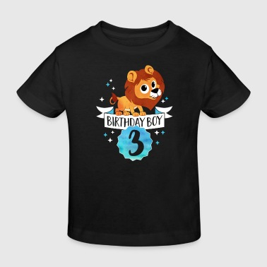 Birthday Boy - 3rd Birthday — three years old party - Kids' Organic T-shirt