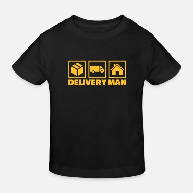 Delivery Delivery man - Kids' Organic T-Shirt