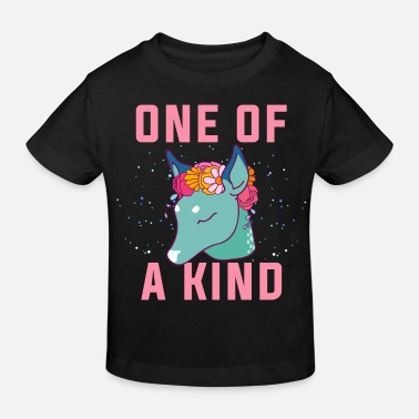 One One of a kind.Unique Dow.Magical Gifts.Deer. Foal - Kids' Organic T-Shirt