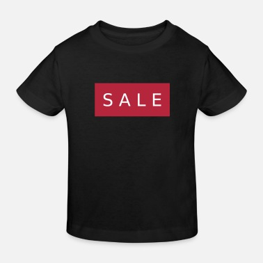 Discount Sign SALE - Kids' Organic T-Shirt