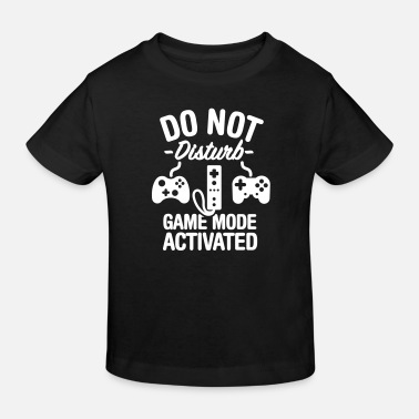 Nörd Do not disturb game mode activated - Ekologisk T-shirt barn