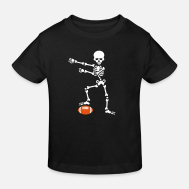 Football Floss American football floss dance flossing skeleton - Kids' Organic T-Shirt
