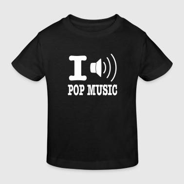 i love pop music SE - Ekologisk T-shirt barn