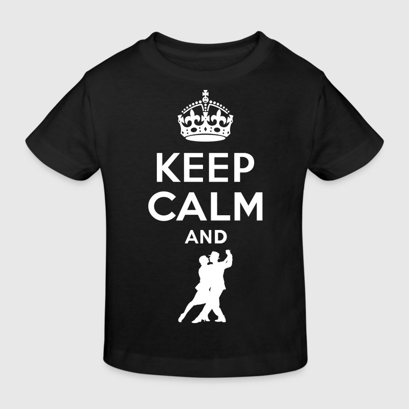 Keep calm - dance Tango - Kids' Organic T-shirt