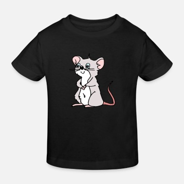 Mouse mouse - the cute mouse toni mouse - Kids' Organic T-Shirt