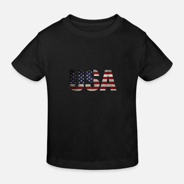 Usa USA - Kinder Bio T-Shirt