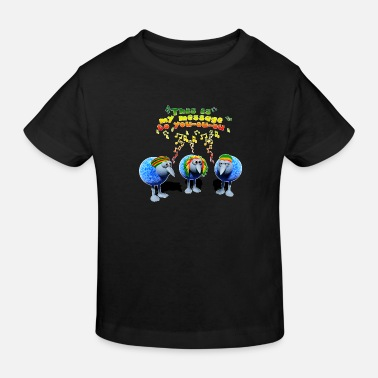 three little RASTA birds - Kinder Bio T-Shirt