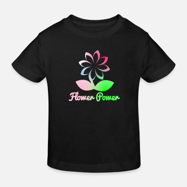 Flower Power flower power - Kids' Organic T-Shirt