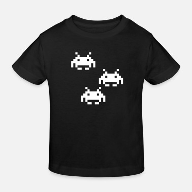 Powned Spaceinvader - Kinder Bio T-Shirt
