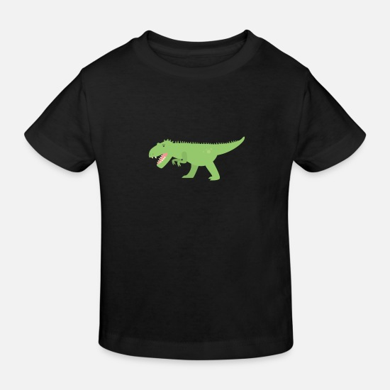 Carnivores Baby Clothes - Hunting dinosaur - Kids' Organic T-Shirt black