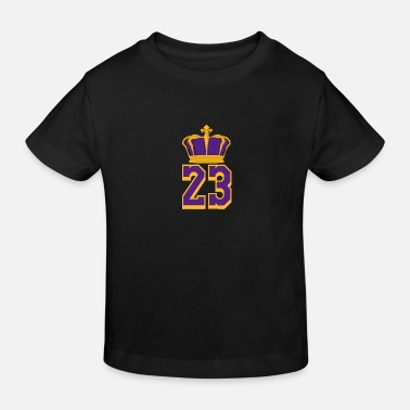 Basketball Number 23 LeBron James - Kids' Organic T-Shirt