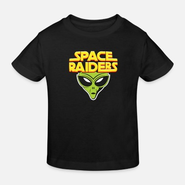 Raider SPACE RAIDER - Kids' Organic T-Shirt
