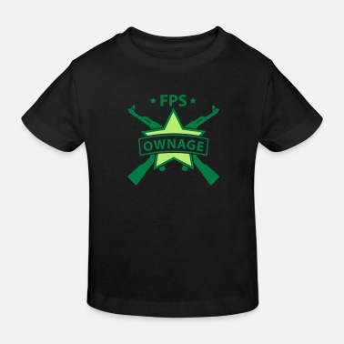 Owned fps_gamer - T-shirt bio Enfant