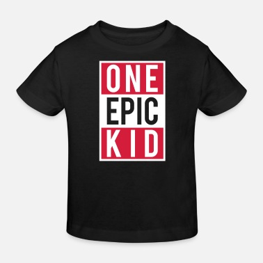 Clan one epic kid - Kids' Organic T-Shirt