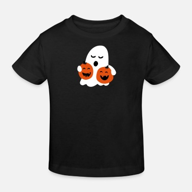 Halloween cute halloween - Kinder Bio-T-Shirt