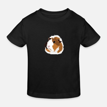 Retro Retro Guinea Pig 'Elsie' (no text) - Kids' Organic T-Shirt