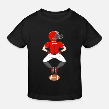 Football Rugby American Football Sport USA Gridiron Footbal - Kids' Organic T-Shirt