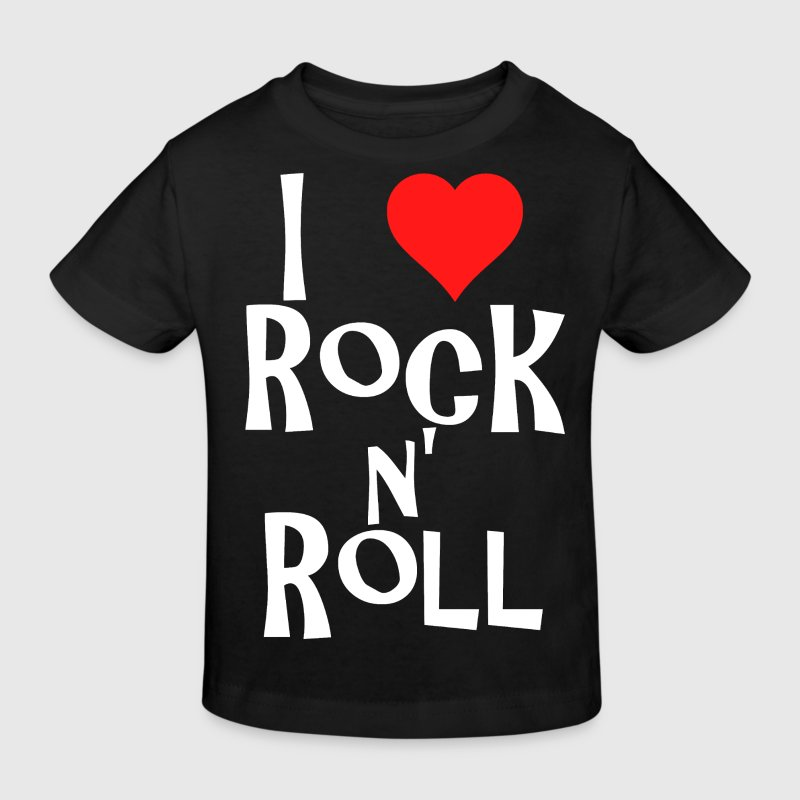 rock n' roll - Kinderen Bio-T-shirt