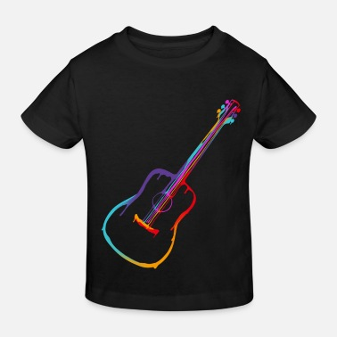 Bassist Gradient Acoustic Guitar - Kids' Organic T-Shirt