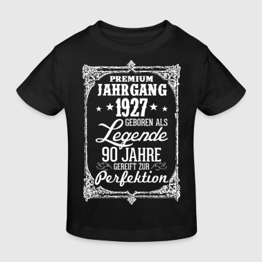 90 - 1927 - Legende - Perfektion - 2017 - DE - Kinder Bio-T-Shirt