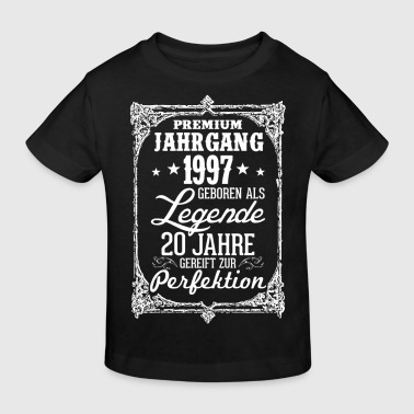 20 - 1997 - Legende - Perfektion - 2017 - DE - Kinder Bio-T-Shirt