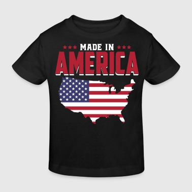 Made in America - Geboren in Amerika - USA Baby - T-shirt bio Enfant