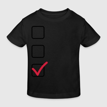 Checkliste - Kinder Bio-T-Shirt