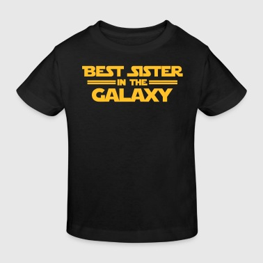Best Sister in the Galaxy - Kinderen Bio-T-shirt