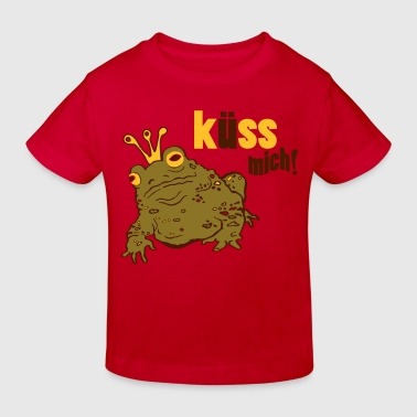 Traumprinz,Kroete - Kinder Bio-T-Shirt