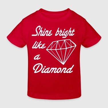 diamond - Kinder Bio-T-Shirt