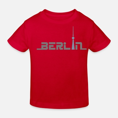 Berlin berlin1 - Kinder Bio T-Shirt