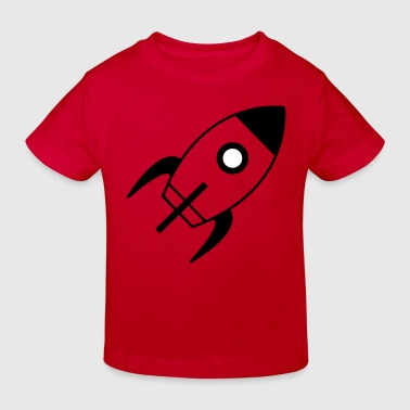 spaceship - Kids' Organic T-shirt