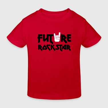 future rock star - Kids' Organic T-shirt