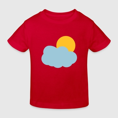 Sun and Clouds - Kids' Organic T-shirt