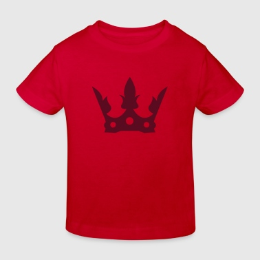crown1 - Kinderen Bio-T-shirt