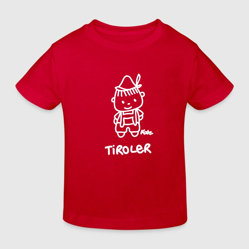 Tiroler (ms) - Kinder Bio-T-Shirt