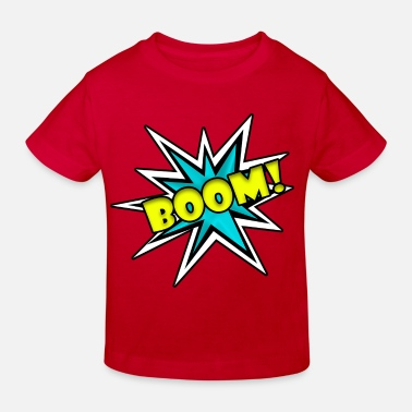 Strip Comic Book Boom - Kids' Organic T-Shirt