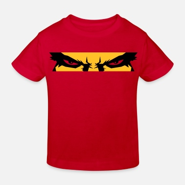 Lucifer Fallen Angel Devil Eyes - Kids' Organic T-Shirt