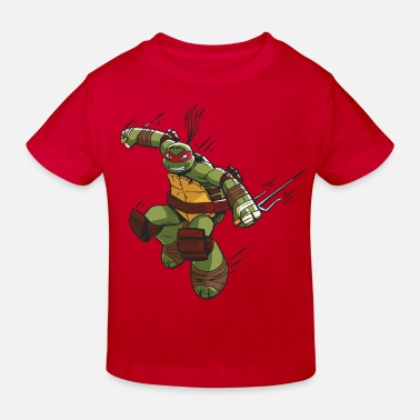 TMNT Turtles Raphael Ready For Action - Kinderen Bio-T-shirt