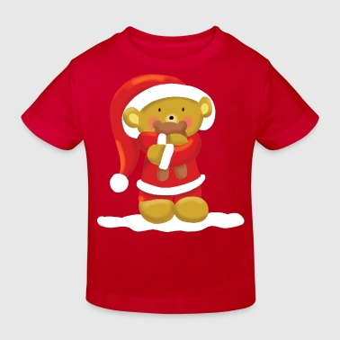 Christmas Bear - Kinderen Bio-T-shirt