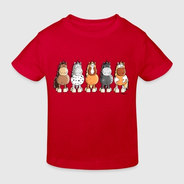 Happy Horses - Kids' Organic T-shirt