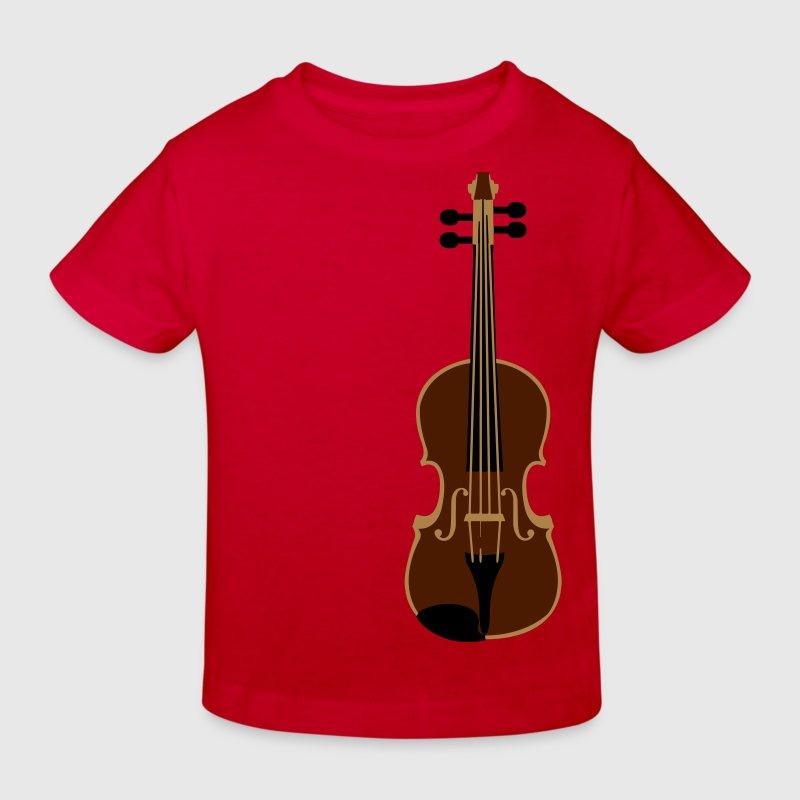 violin - Kids' Organic T-shirt