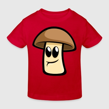 Happy Champignon - Kinder Bio-T-Shirt