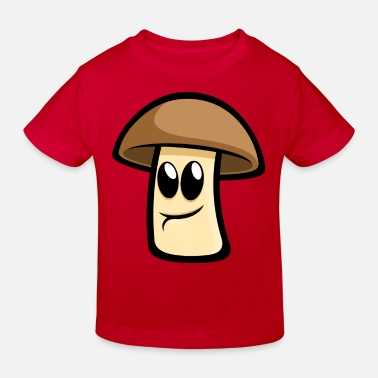 Champignon Happy Champignon - Kinder Bio-T-Shirt